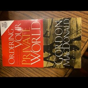 "NWOT Book""Ordering Your Private World """